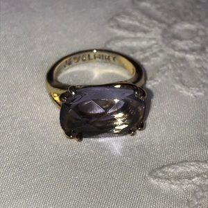 Jewelmint amethyst ring - size 7